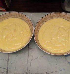 Rezept für selbstgemachten Vanillepudding.