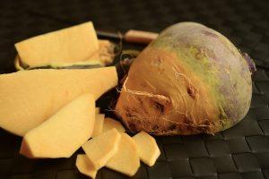 Endivien-Salat mit Steckrübe