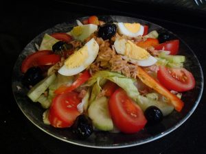 Rezept für Nizza-Salat.